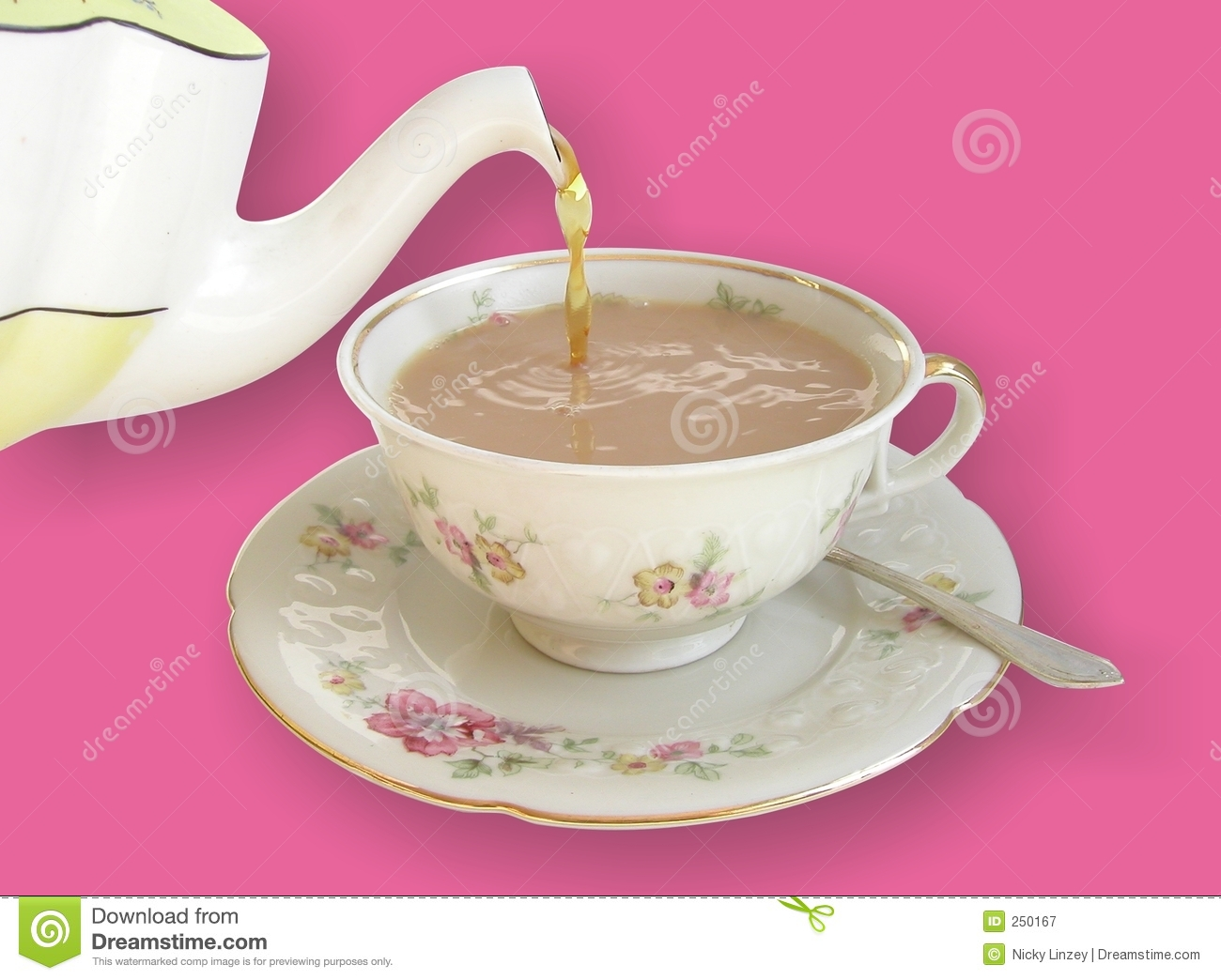Chinese Tea Clipart Pouring Tea Royalty Free Stock
