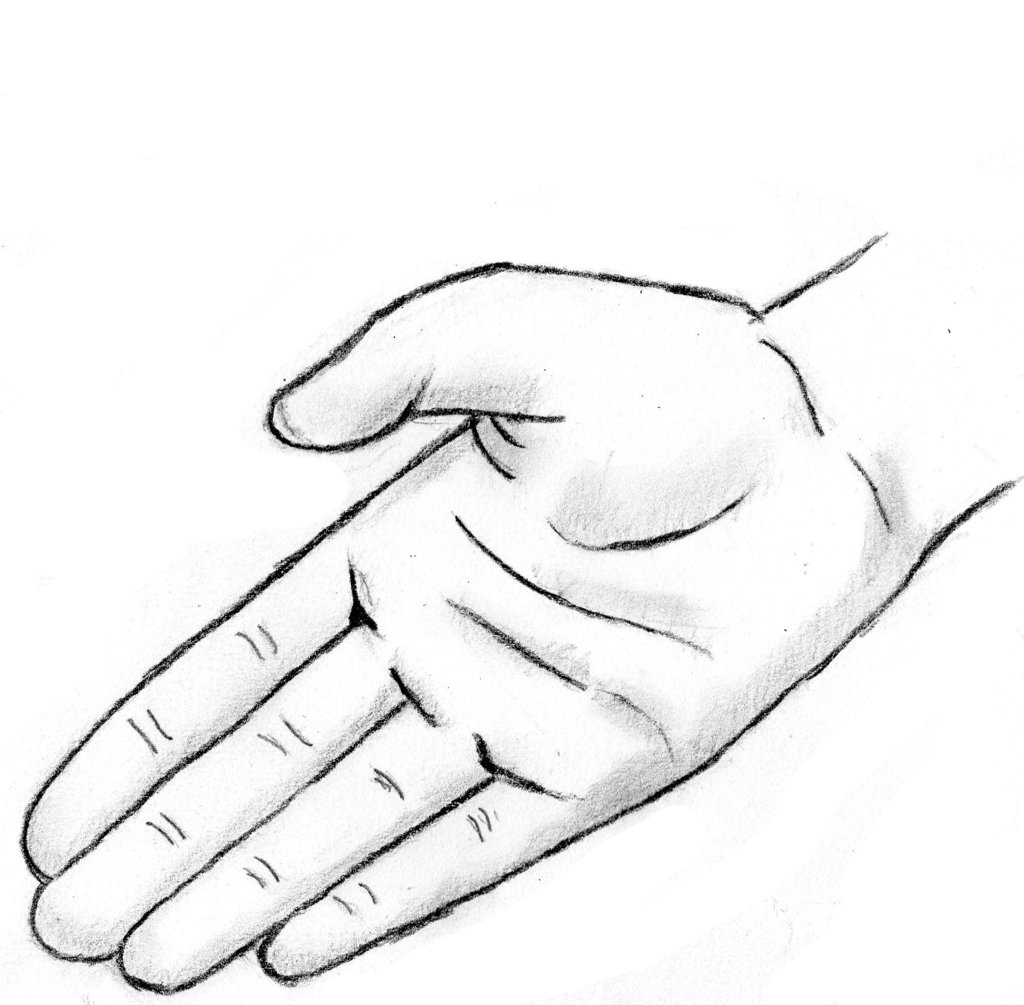 Hand Drawing Clipart - Clipart Kid