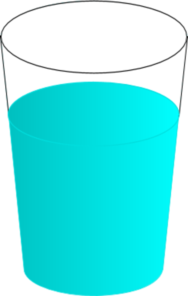 Cup Of Water Clipart - Clipart Suggest