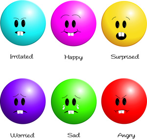 Emotion Clip Art Images Emotion Stock Photos   Clipart Emotion