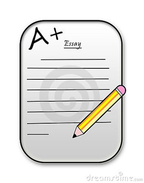 Essay writing clip art