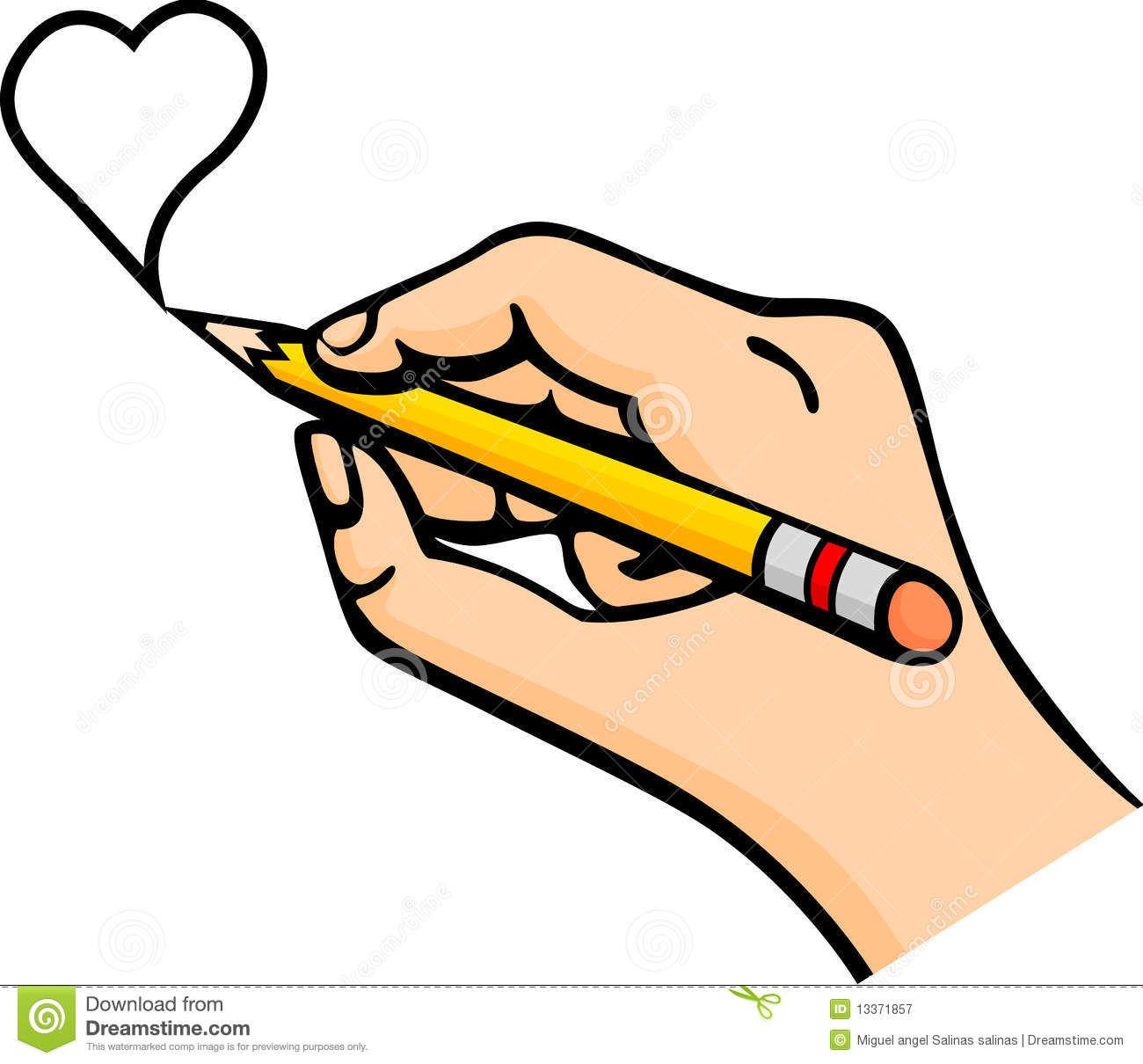 Pencil In Hand Clipart Clipart Suggest