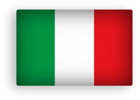 Italy Flag Clipart Rectangular