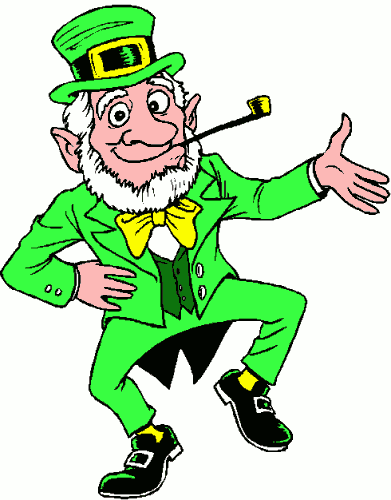 Leprechaun Clip Art Animated   Clipart Panda   Free Clipart Images