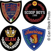 Merit Badge Illustrations And Clipart