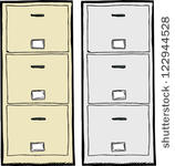 Metal File Cabinet Clip Art Vector Free Vector Images   Vector Me