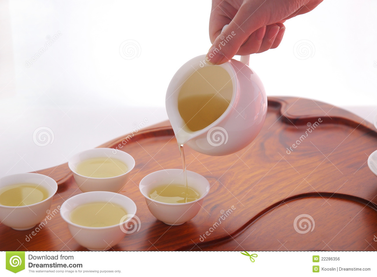 Pouring Tea Royalty Free Stock Image   Image  22286356