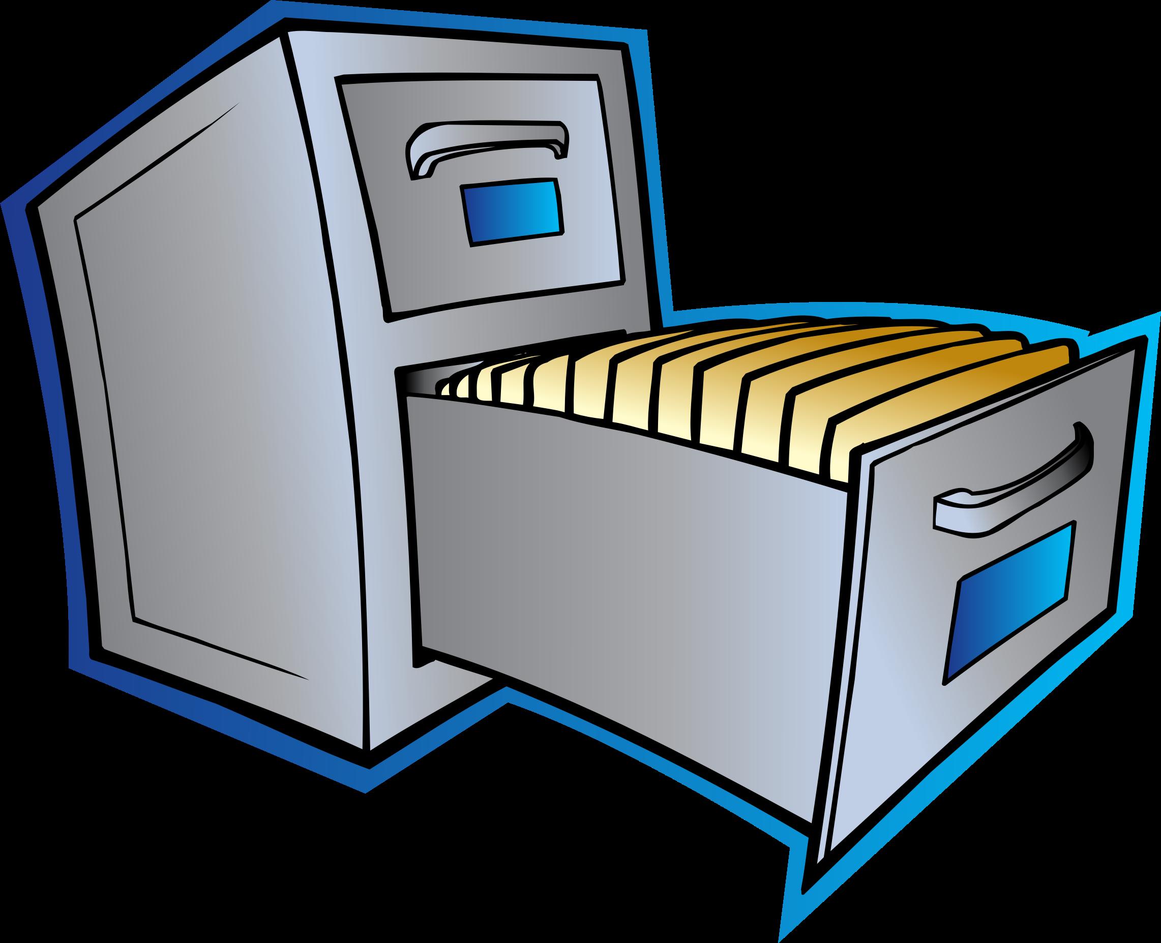 small file cabinet clipart clipart kid