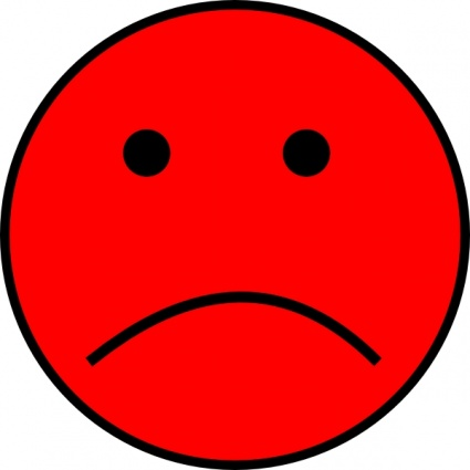 Sad Smiley Face Clipart   Clipart Panda   Free Clipart Images