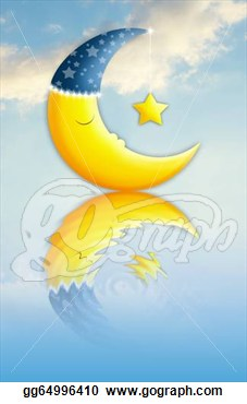 Stock Illustration   Sweet Dreams  Clipart Drawing Gg64996410