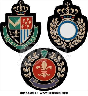 Vector   Classical Insigina Emblem Badge Shield  Stock Eps Gg57530614