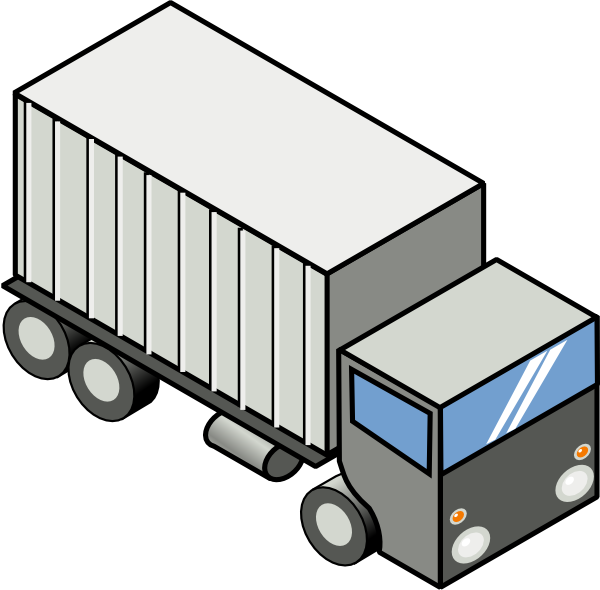 Animated Moving Truck Clipart Photos
