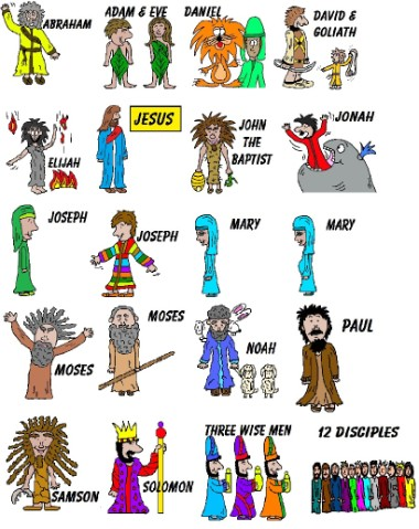 Bible People Clipart - Clipart Kid