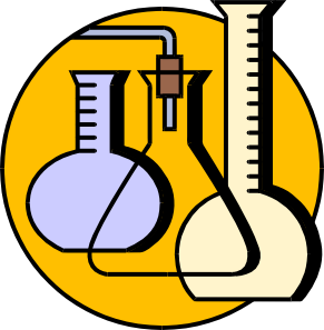 Chemical Lab Flasks Clip Art At Clker Com   Vector Clip Art Online