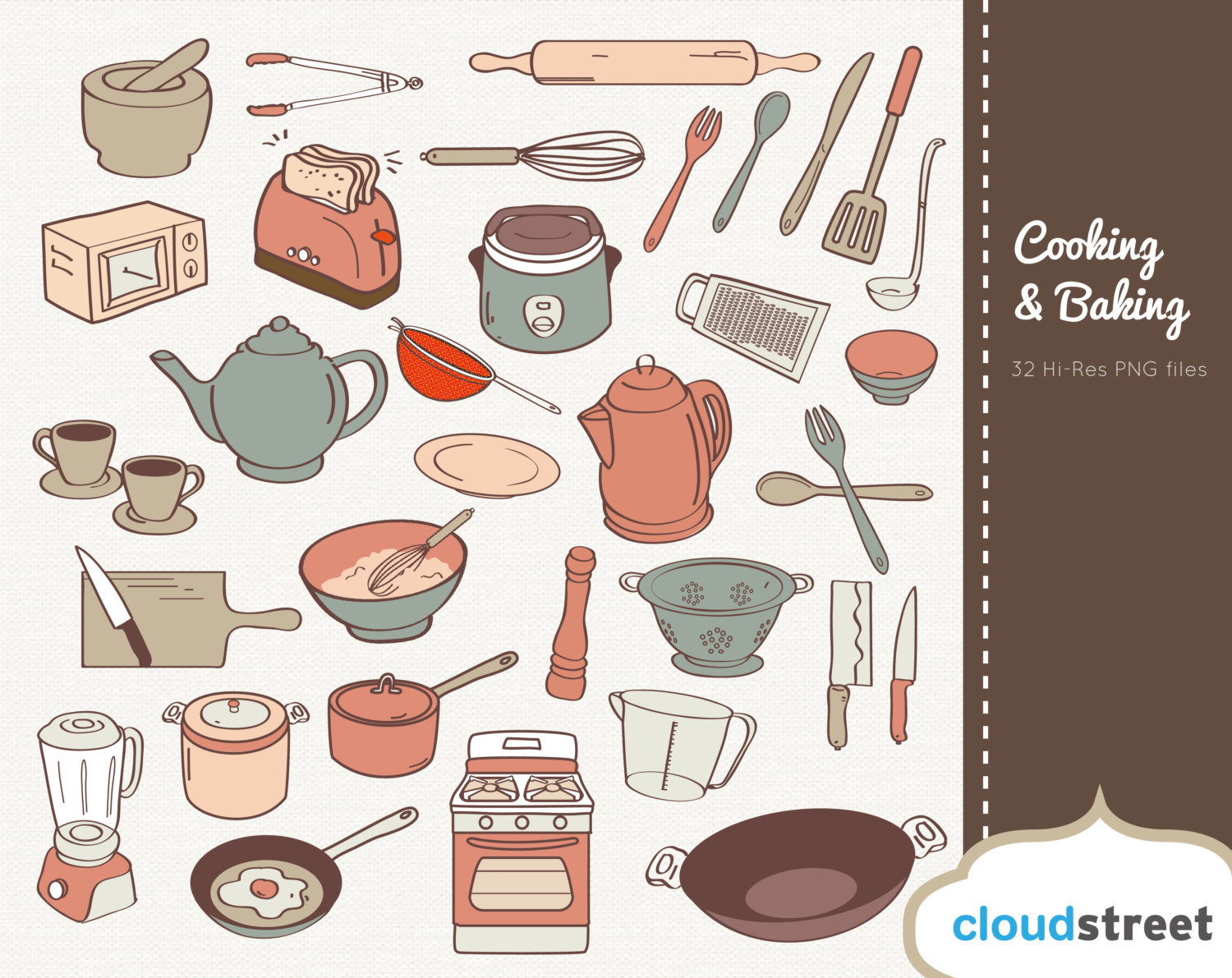 Border kitchen utensils clipart clipart suggest for Art and cuisine cookware review