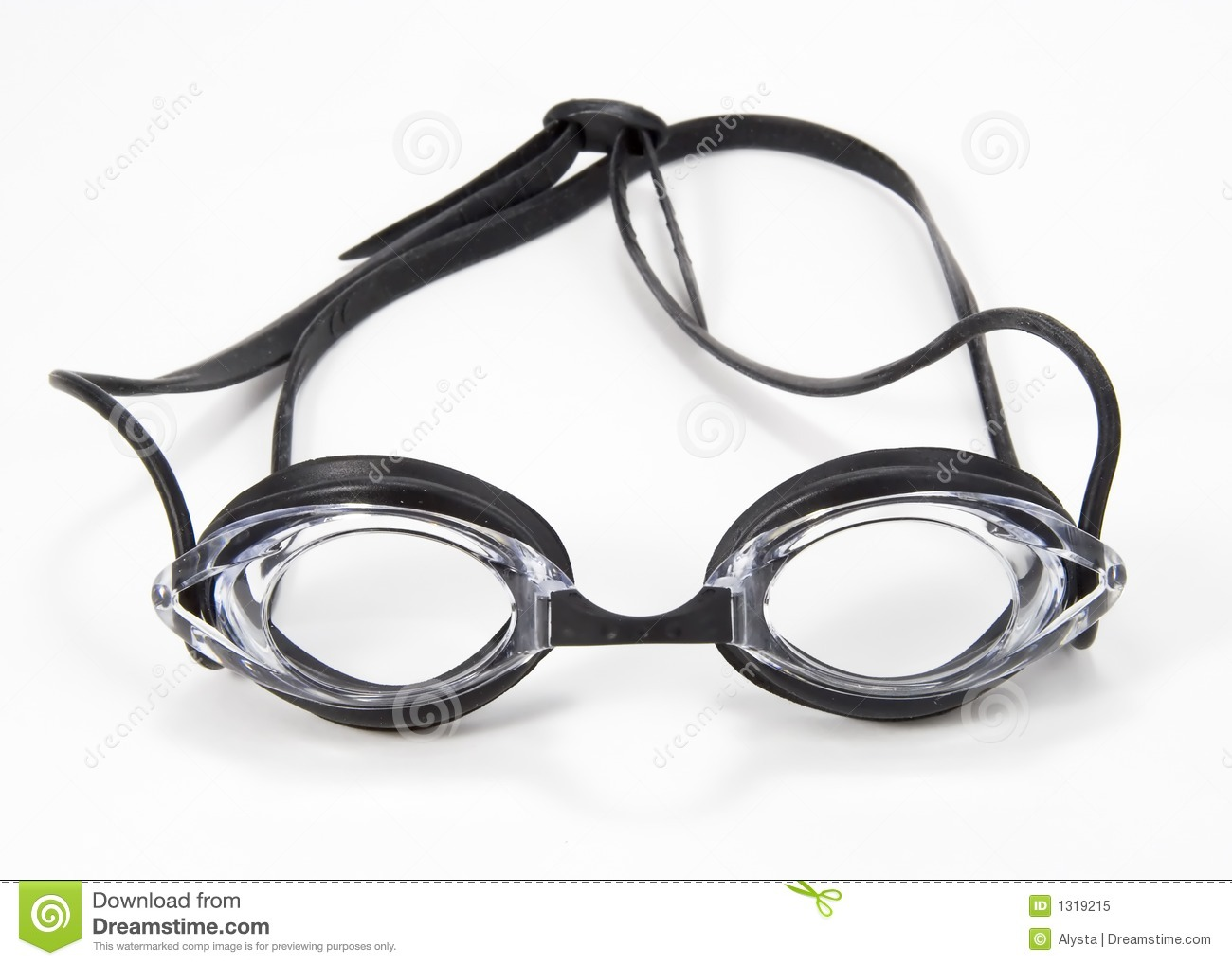 Dreamstime Comblack Swimming Goggles Front Royalty Free Stock Photo