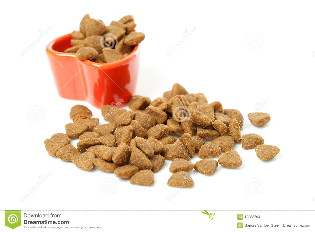Dry Cat Food Clipart Pile Of Dry Cat Food Stock
