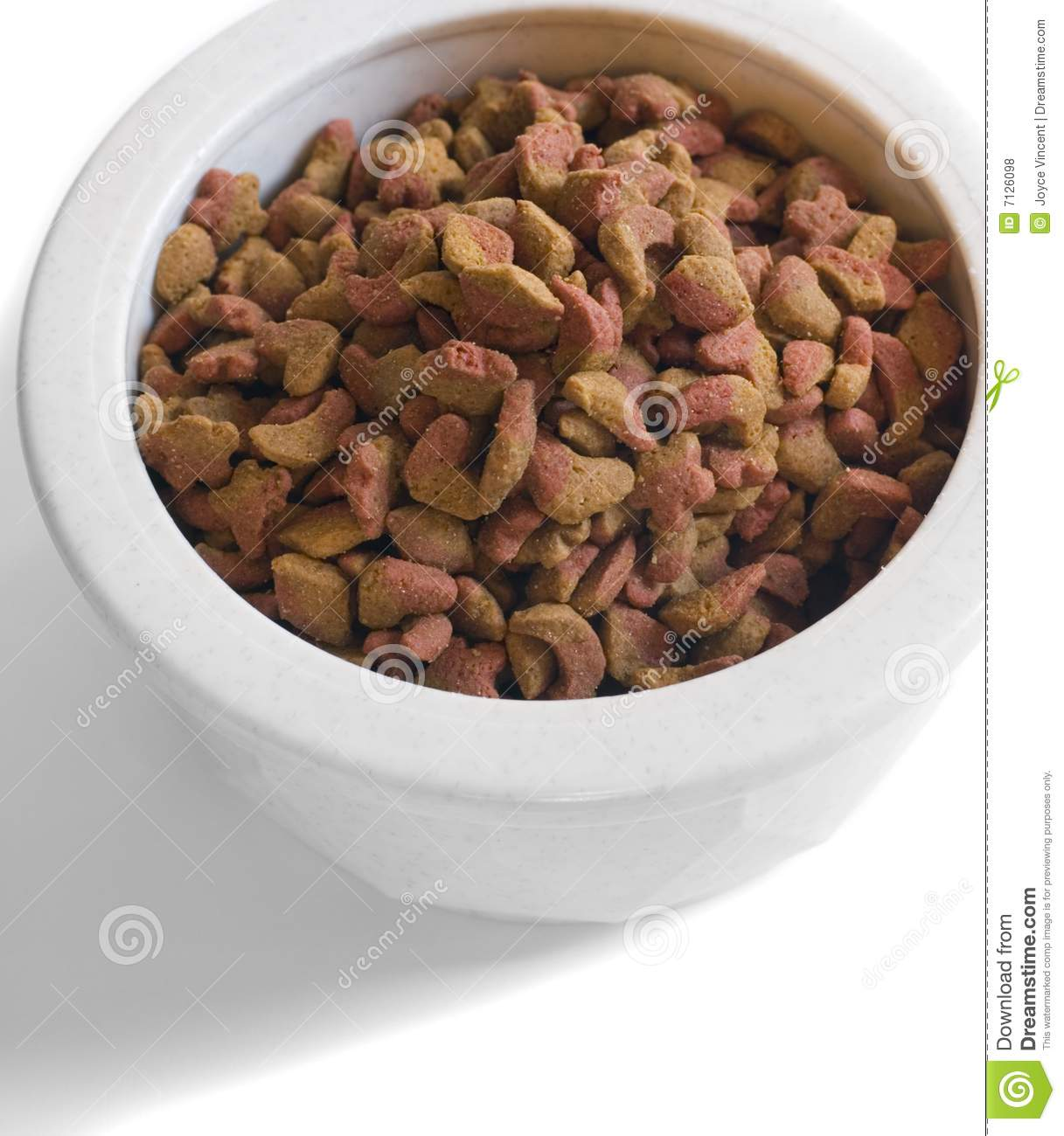 Dry Cat Food Royalty Free Stock Photos   Image  7126098
