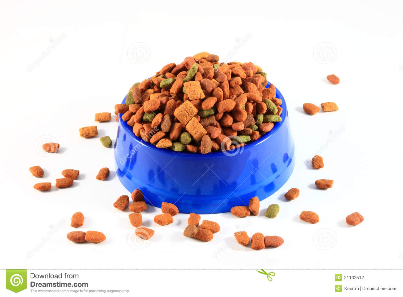 Dry Cat Food Stock Photography   Image  21132512