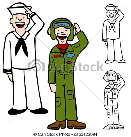 Clip Art Navy Clipart air of a navy clipart kid eps vector force men and isolated on