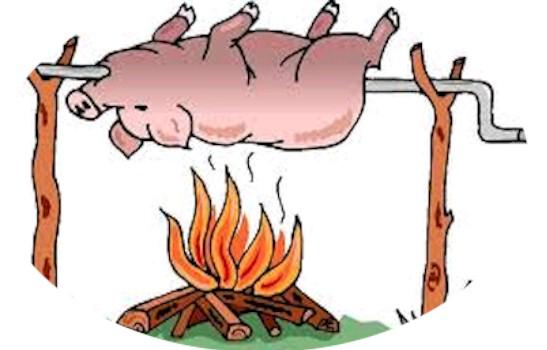 Clip Art Pig Roast Clip Art pig roast clipart kid go back gallery for clip art