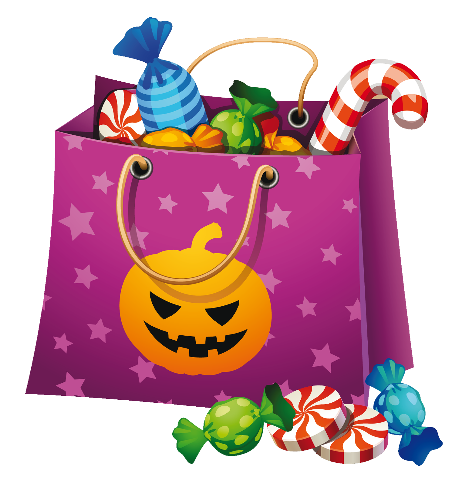 Halloween Candy Clipart - Clipart Kid