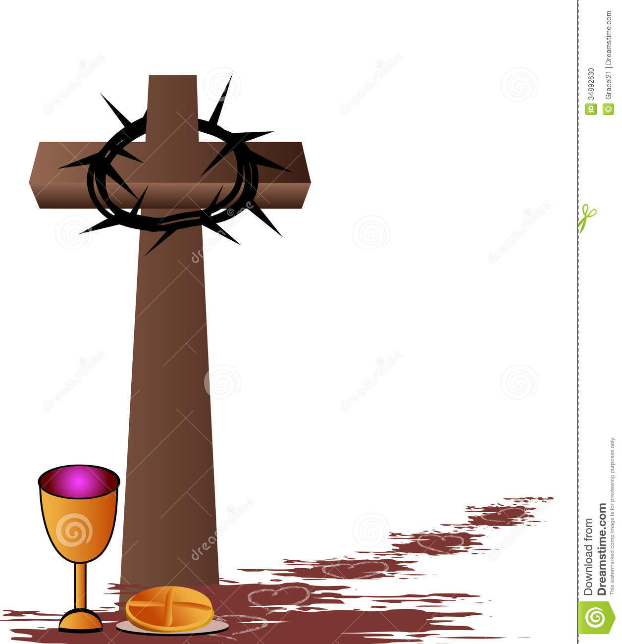Holy Communion Stock Photo   Image  34892630