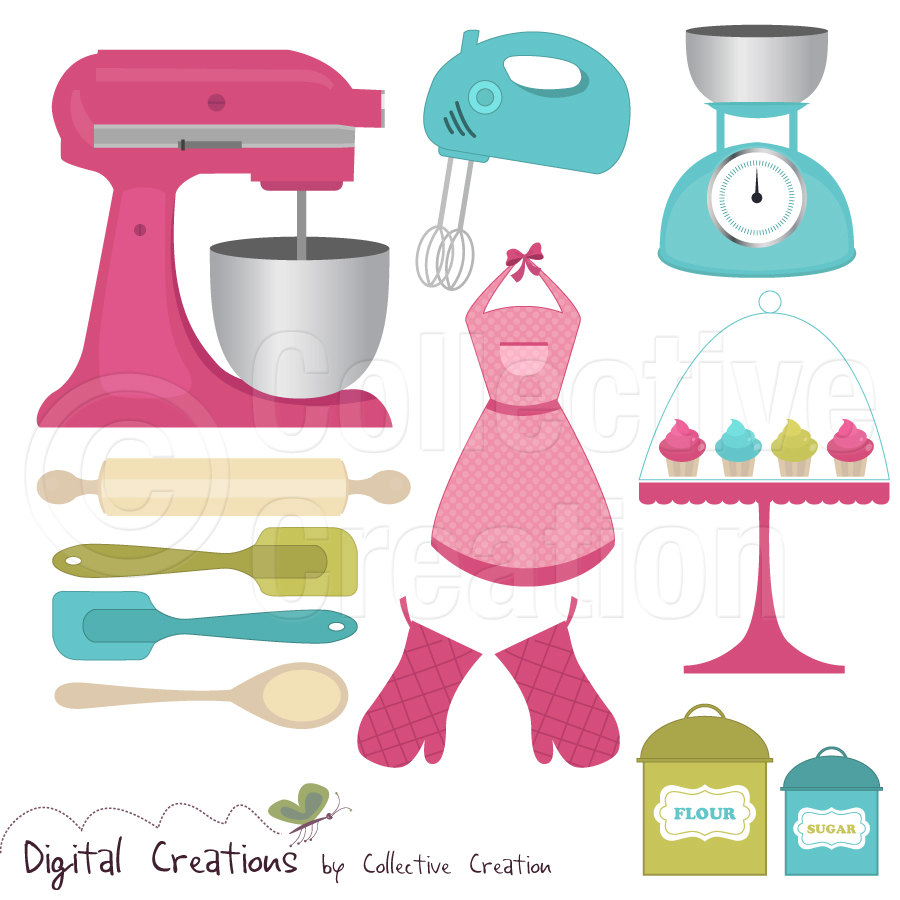 Cake Stand Kitchen Art : Baking Tools Clipart - Clipart Suggest