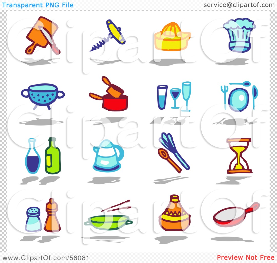 kitchen tools clipart - clipart kid