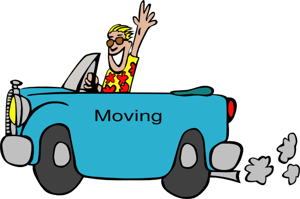 Moving Truck Animated Clipart Photos