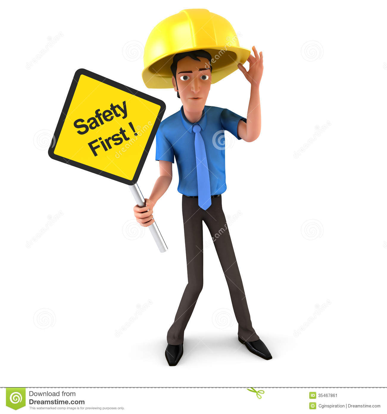 Safety First Stock Image   Image  35467861