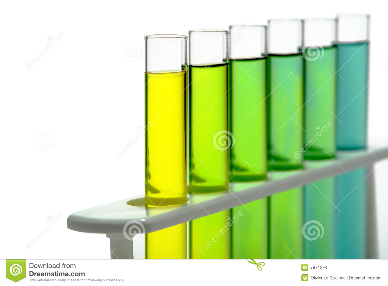 Test Tubes In Science Research Lab Stock Images   Image  7971294