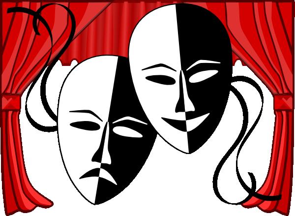 Theater Clipart theatre-masks-clip-art-L1rU8n-clipart.png