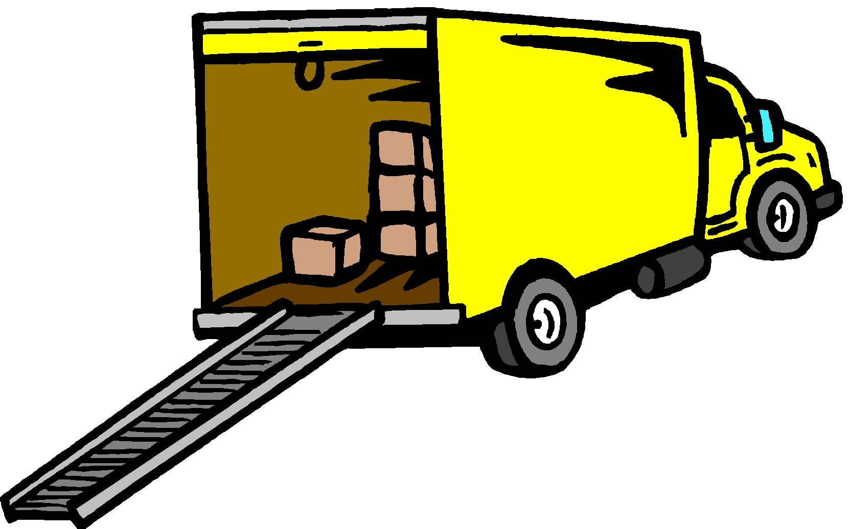 Were Moving Truck Clipart