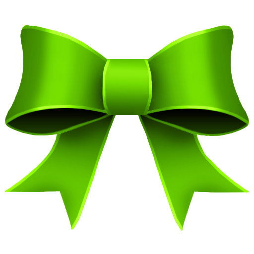 Green Ribbon Christmas Clipart - Clipart Kid
