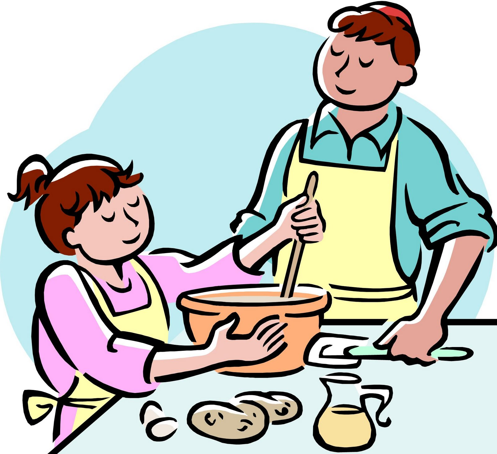 Help With Dinner Clipart - Clipart Kid