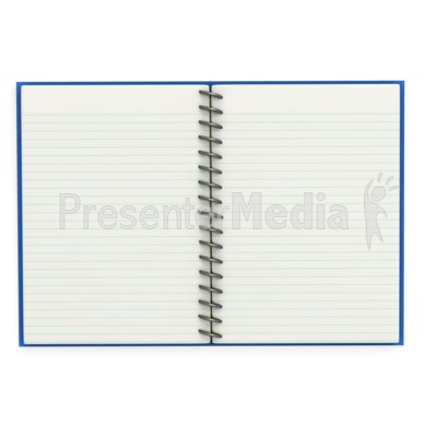 Open Notebook   Home And Lifestyle   Great Clipart For Presentations