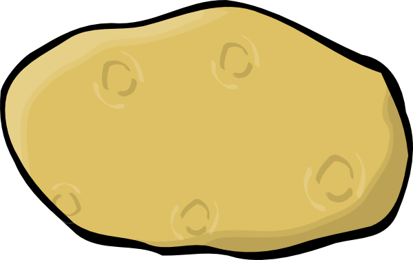 Potato Clip Art At Clker Com   Vector Clip Art Online Royalty Free