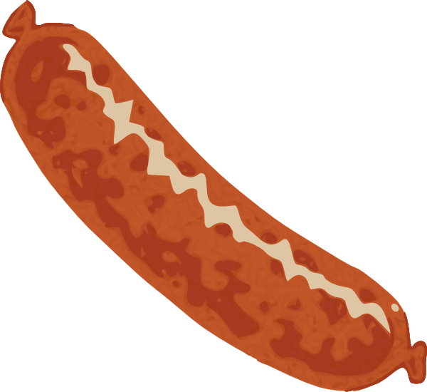 Sausage Clip Art At Clker Com   Vector Clip Art Online Royalty Free