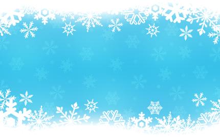 Blue Christmas Banner ...