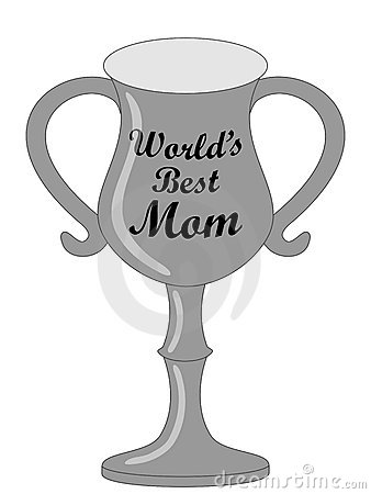 World S Best Mom Trophy Royalty Free Stock Image   Image  10028206