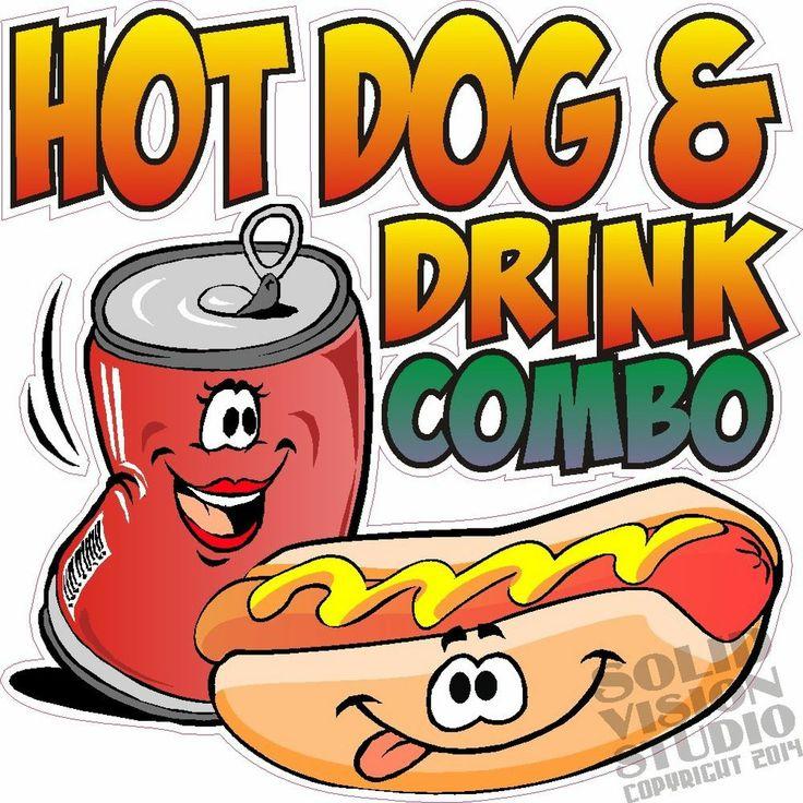 Hot Dog Combo Clipart