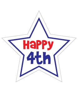 Cute 4th Of July Clipart - Clipart Kid