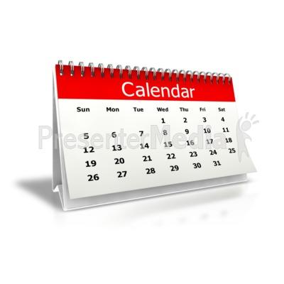 Holiday Calendar Clipart - Clipart Kid