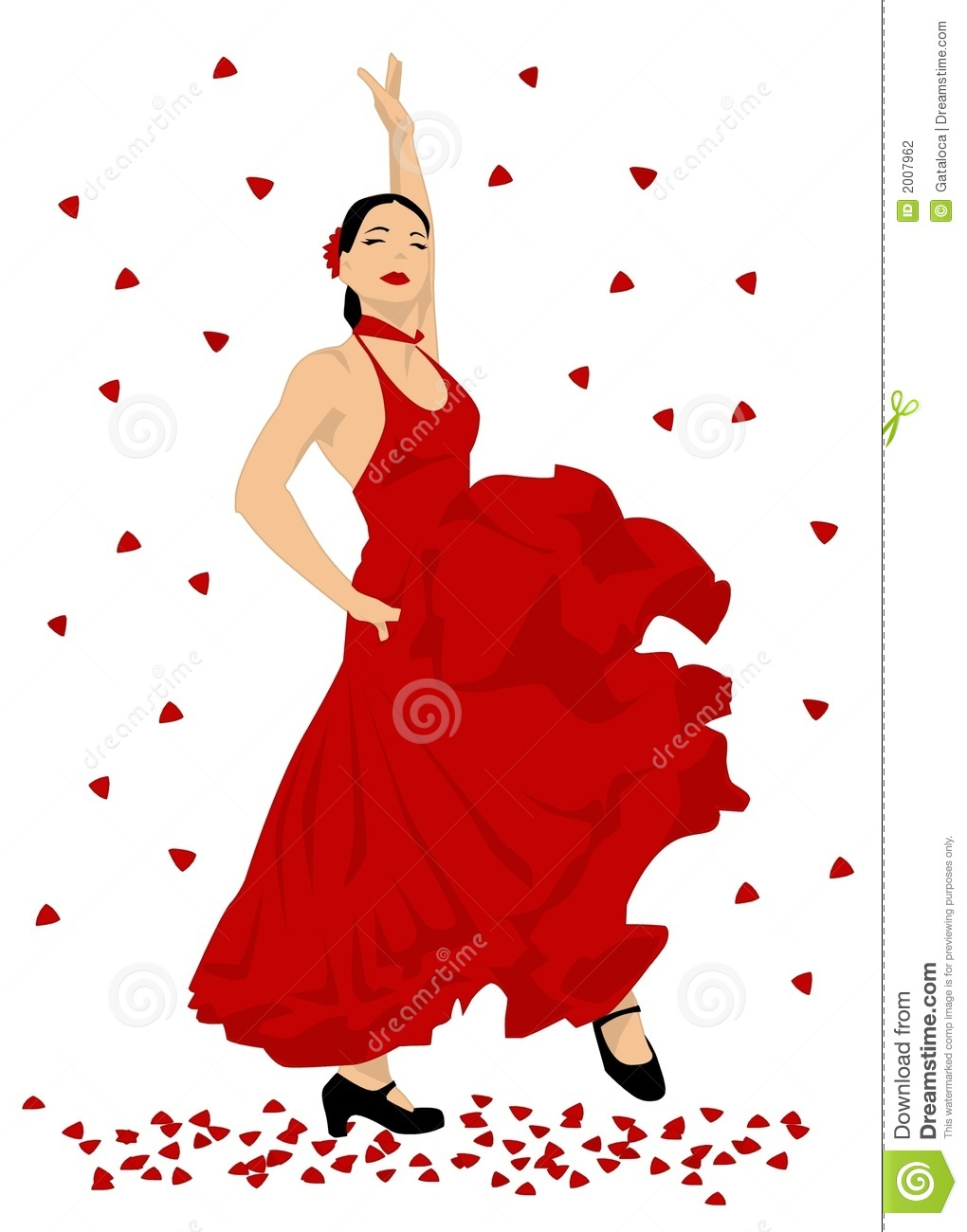 Flamenco Dancer Stock Photography   Image  2007962