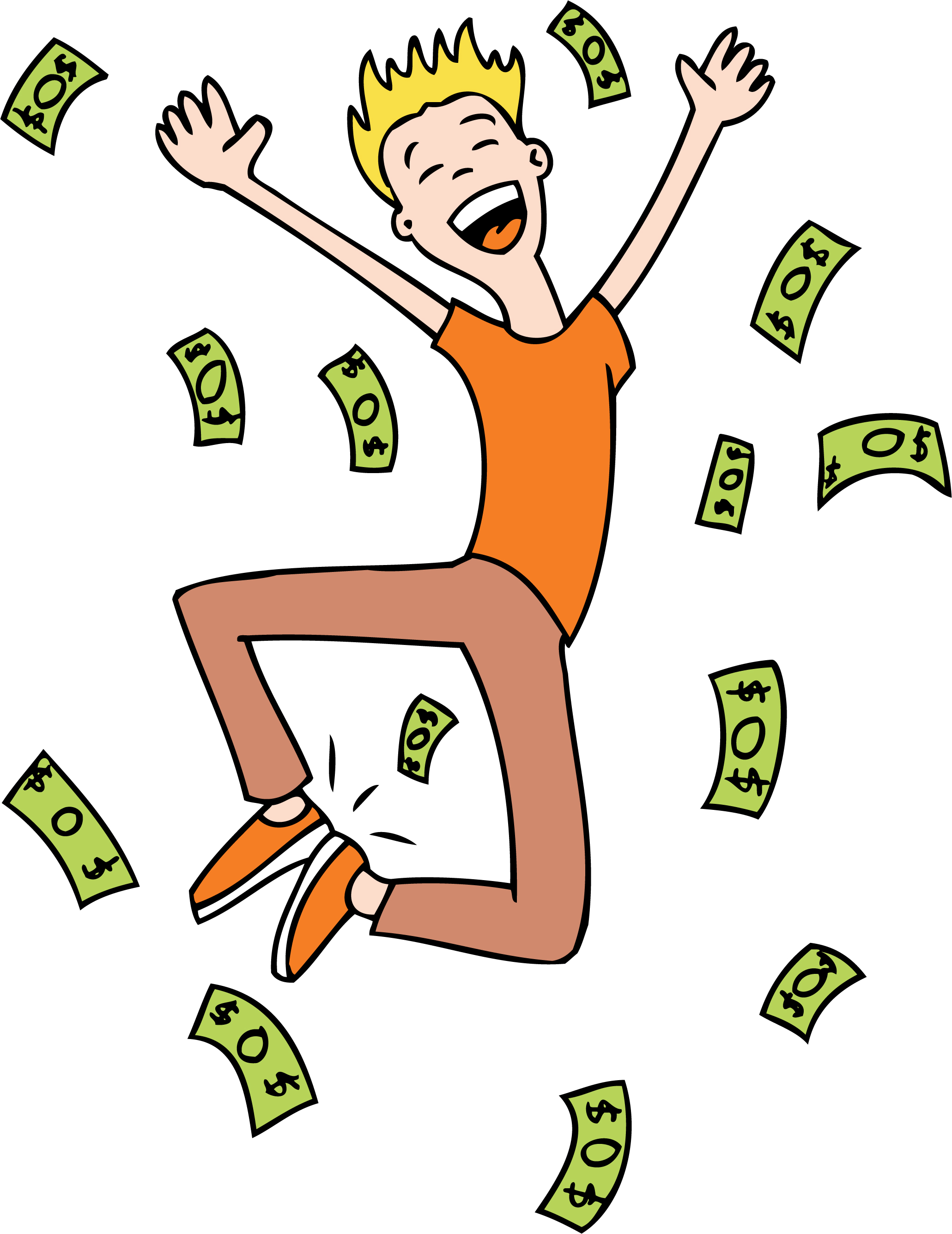 Lotto Tickets Clipart - Clipart Kid