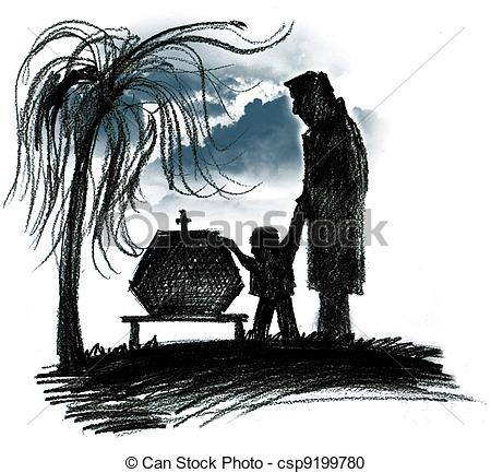 Funnies Pictures About Burial Services Clip Art