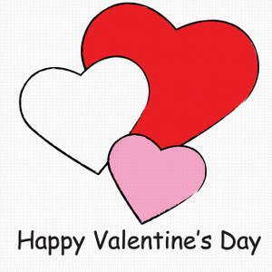 Happy Valentine's Day Clipart - Clipart Kid