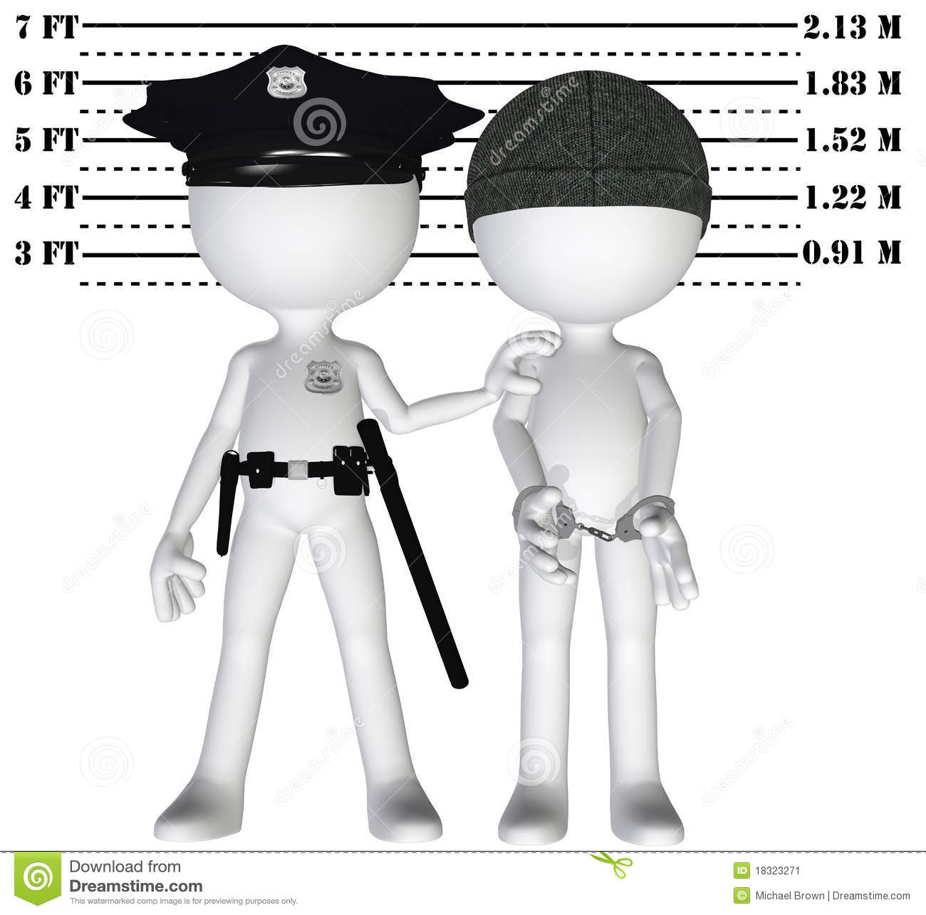 Policeman Holds 3d Criminal In A Lineup Mugshot Of Cop And Busted Perp