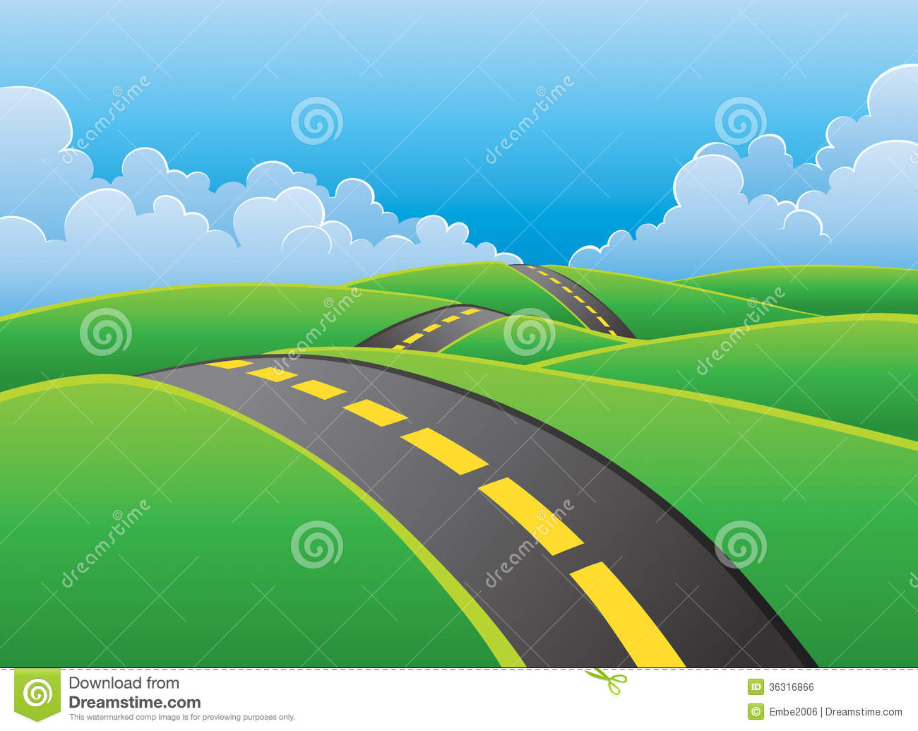 road background clip art - photo #9